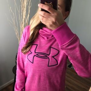 NWT Under Armour Hoodie Jacket Hot Pink S